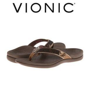 Vionic Tide Sequin Toe Post Sandal